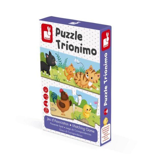 Puzzle de potrivire Trionimo,Janod