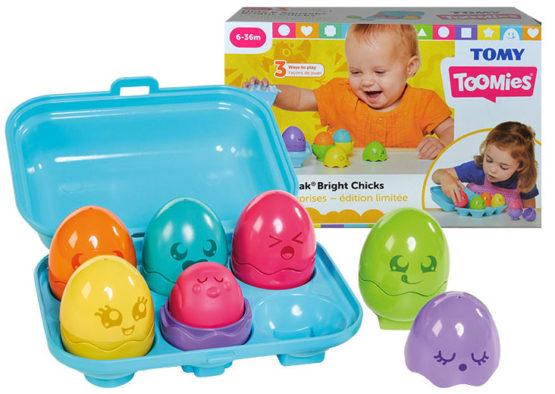 Cofrajul cu oua colorate ,Tomy