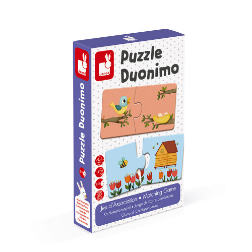 Puzzle din 2 piese – Duonimo,Janod