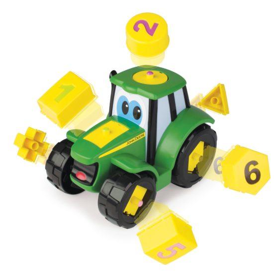 Tractoras cu forme si cifre, John Deere