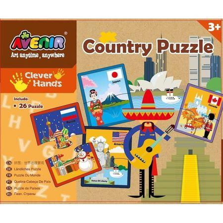 Set 26 puzzle-uri – Tari