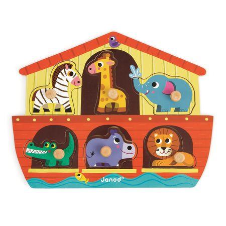 Puzzle Arca lui Noe,Janod