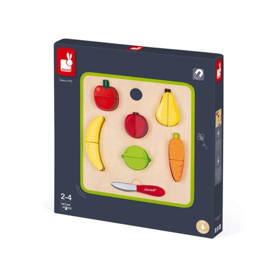 Set Fructe si Legume cu Tava,Janod