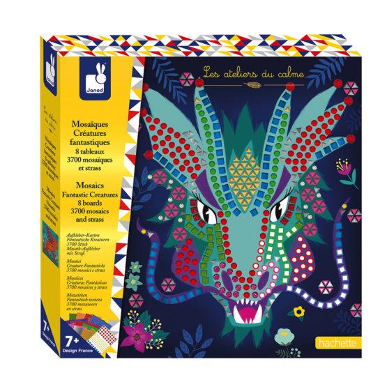 Mosaic-Creaturile Fantastice,Janod